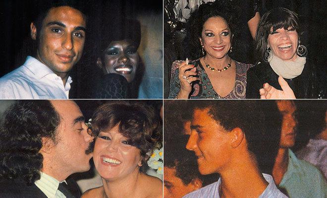 Grace Jones y Fernando Porcar, Lola Flores y Encarnita Polo, Felipe de...