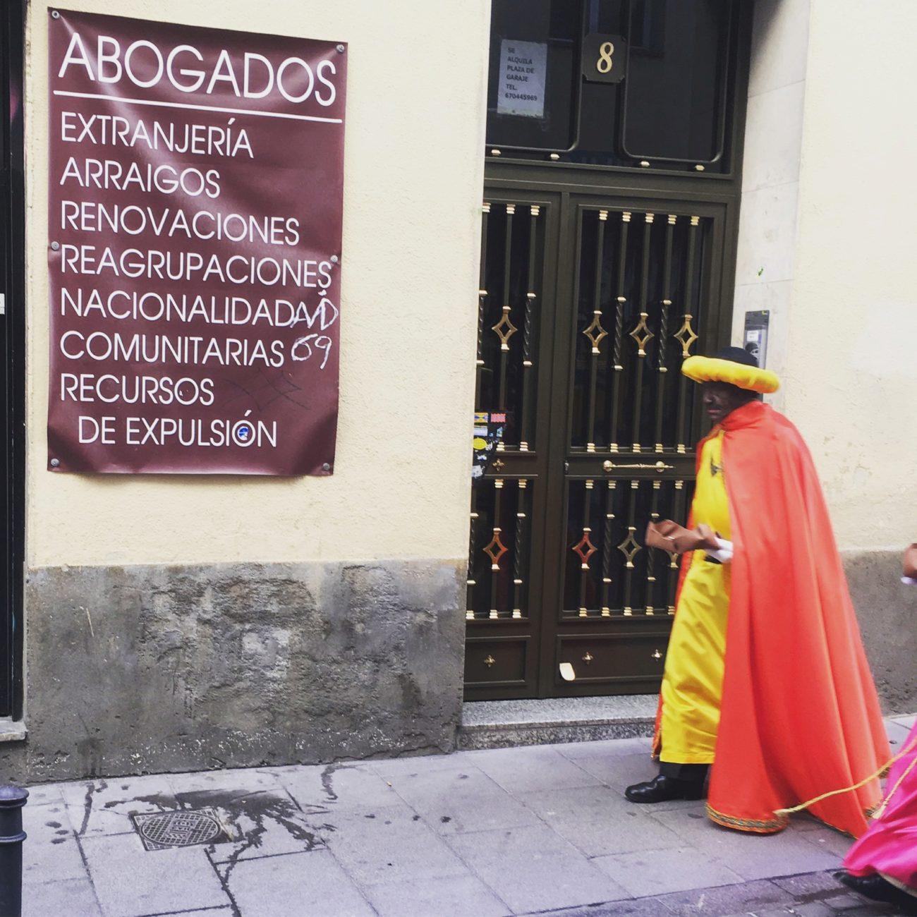 Abogados, extranjería... recursos de expulsión, en la calle del...
