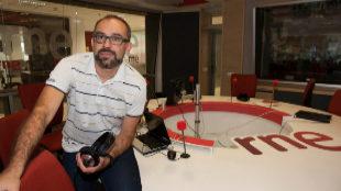 El periodista Manu Martínez.