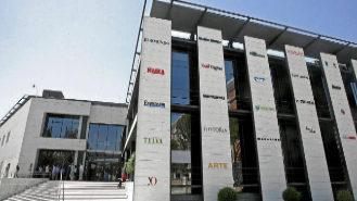 Sede de Unidad Editorial en Madrid.