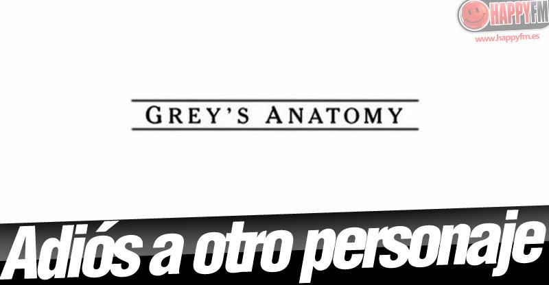 Anatomía de Grey\': Confirmada la Marcha de un Personaje en la ...