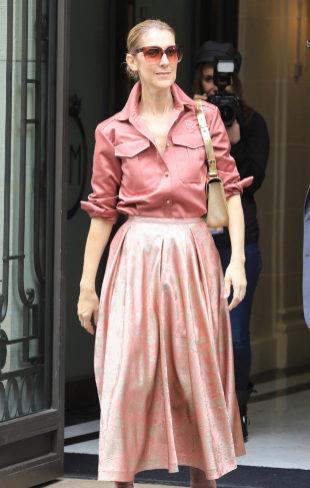 Las mejor vestidas de la semana - Celine Dion