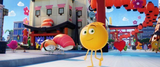 Fotograma de la película 'Emoji: la película'.