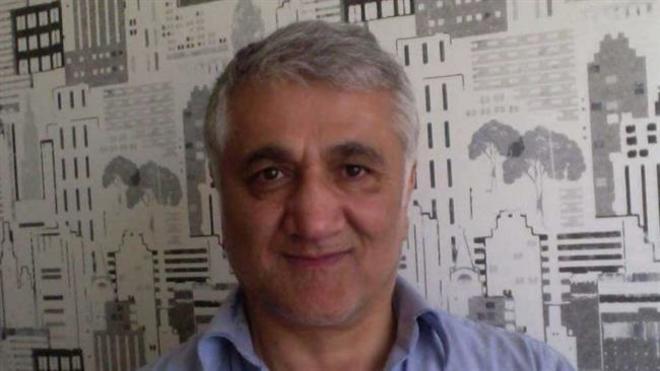 El periodista Hamza Yalçin.