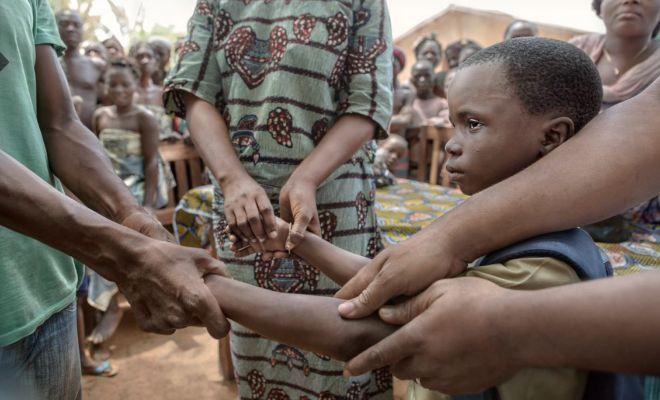 La nueva vida de los niños esclavos