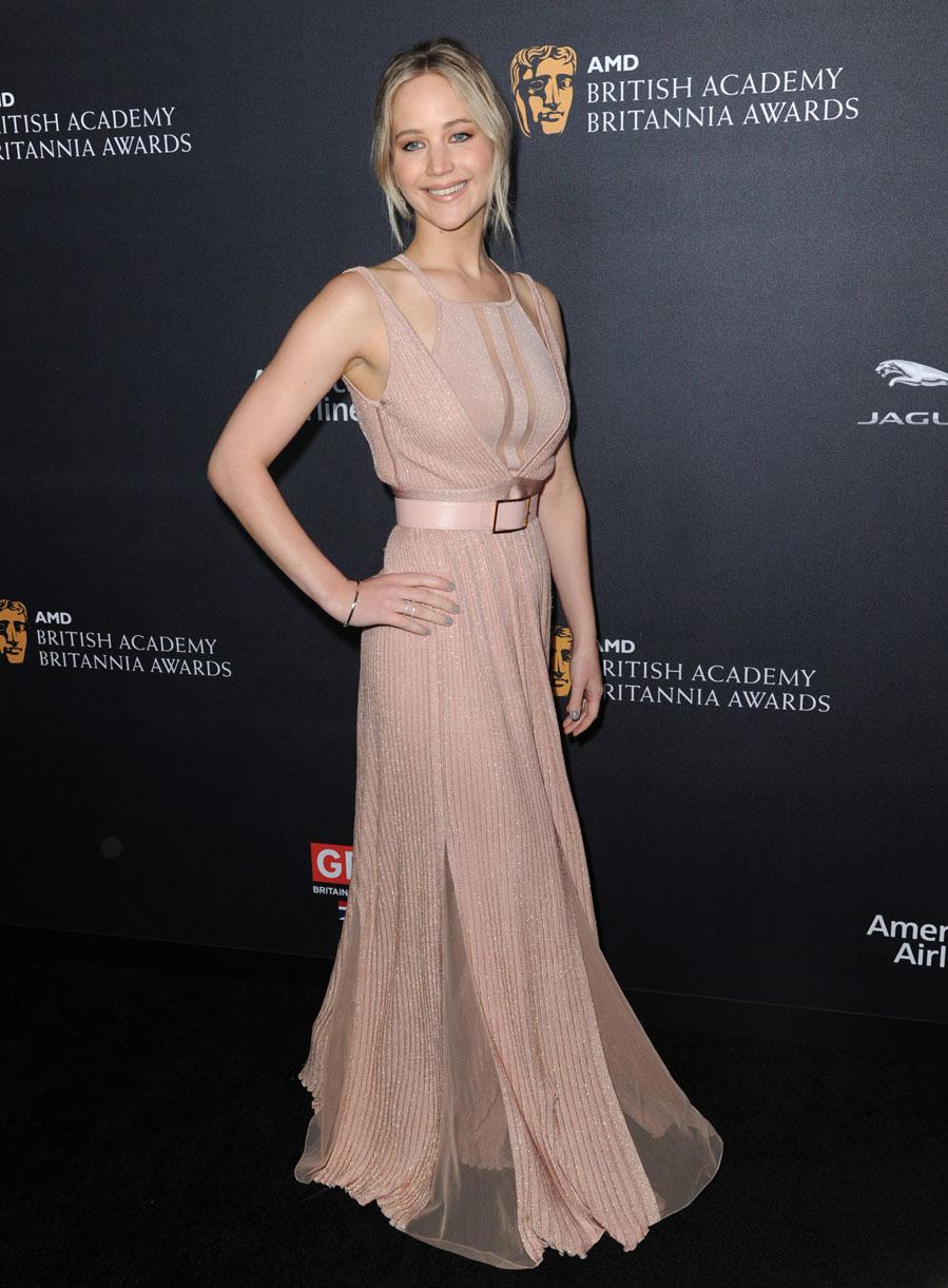 6611364d3 Jennifer Lawrence durante la ceremonia de entrega de los Premios BAFTA