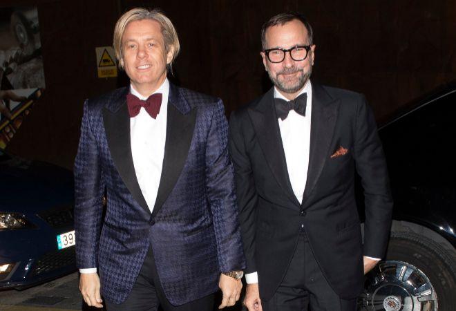 El ex embajador y su pareja, en una imagen reciente.