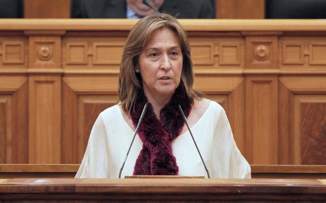 Ana Guarinos, presidenta del Grupo Popular enl as Cortes de...