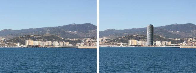 Diez alegaciones para tumbar el rascacielos del puerto de - El mundo andalucia malaga ...
