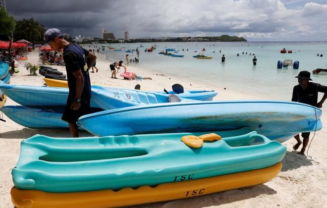 Guam se prepara para un ataque nuclear de Corea del Norte