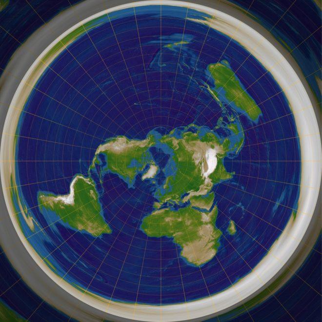 Algunos 'youtubers' afirman que la Tierra es plana.