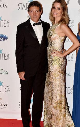Gala Starlite de Marbella, Antonio Banderas y Nicole Kimpel
