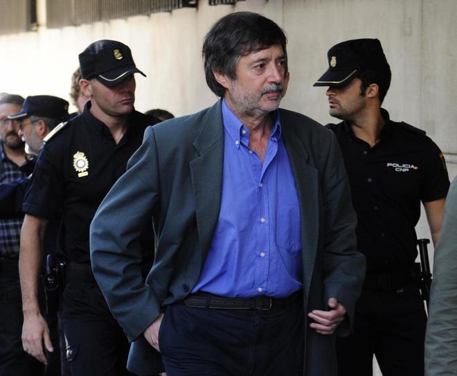 Rafael Díaz Usabiaga, en la Audiencia Nacional en 2011.