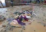 Algunos restos de las víctimas de Sierra Leona.