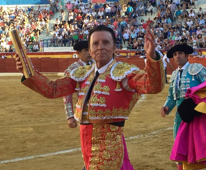 Ortega Cano, el pasado verano en Benidorm, en su