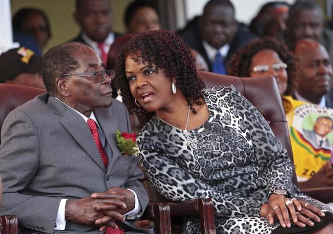 Zimbabue pide inmunidad diplomática para Grace Mugabe después de agredir a una modelo sudafricana