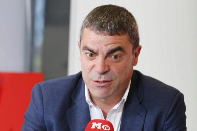 Manolo Sanchís, en Marca TV.