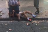 Una de las víctimas del atropello en Las Ramblas.