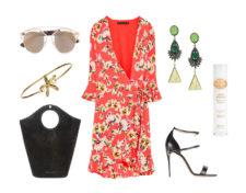 De izq a dcha: Gafas de sol en metal marrón (420 euros), de Dior...