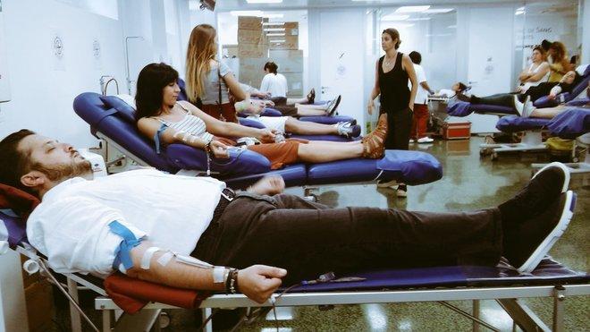Donantes en el Hospital Clínic de Barcelona