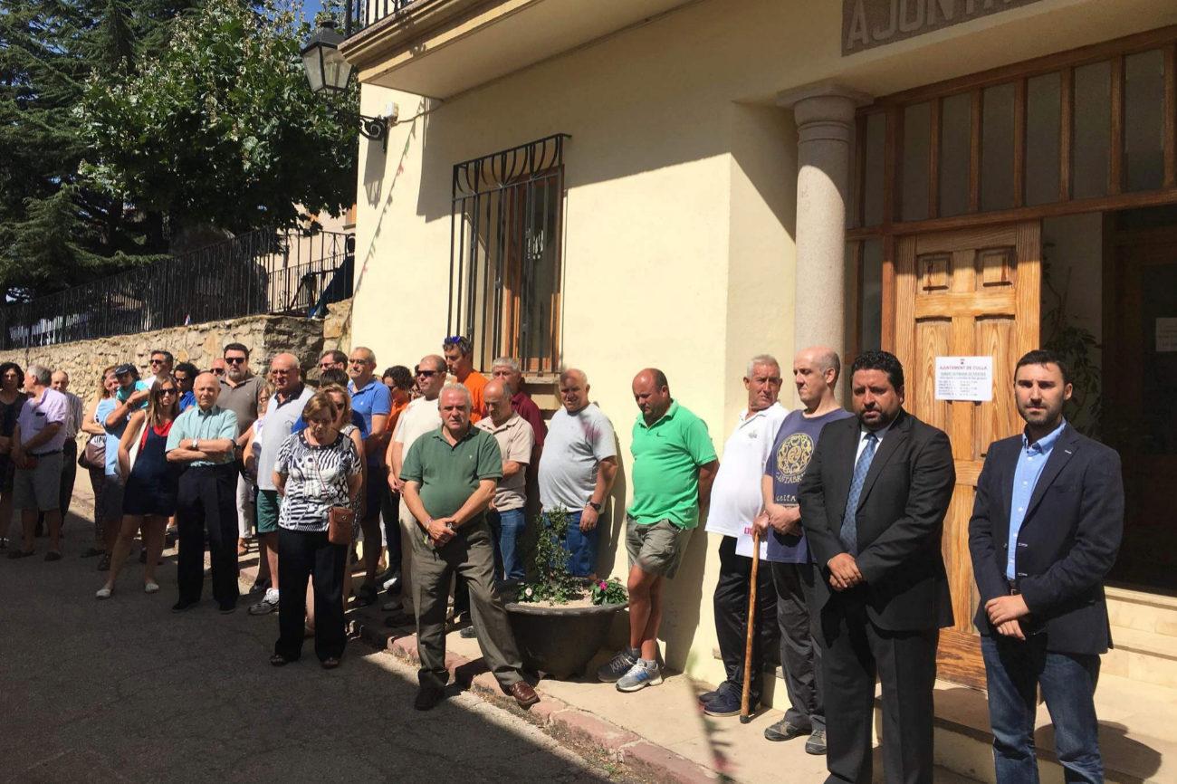 El presidente de la Diputación, en visita oficial, se ha sumado a los...