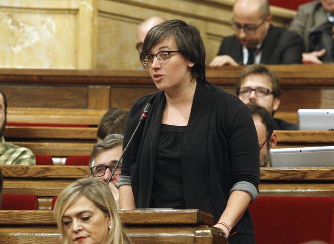 Mireia Boya, diputada de la CUP en el Parlament.