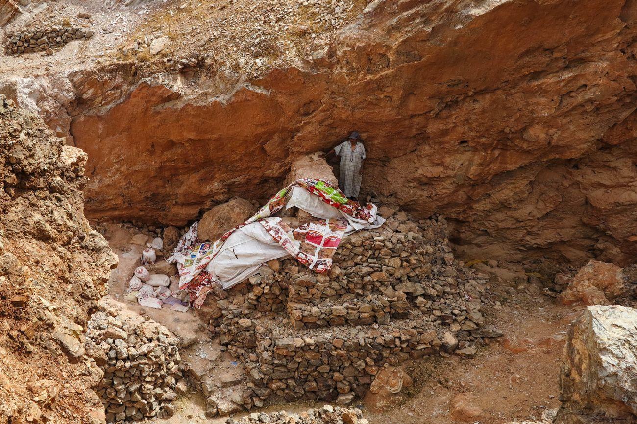 En este desértico lugar de Jebel Irhoud (Marruecos) se han encontrado...