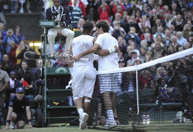 Federer y Nadal: armónico contraste