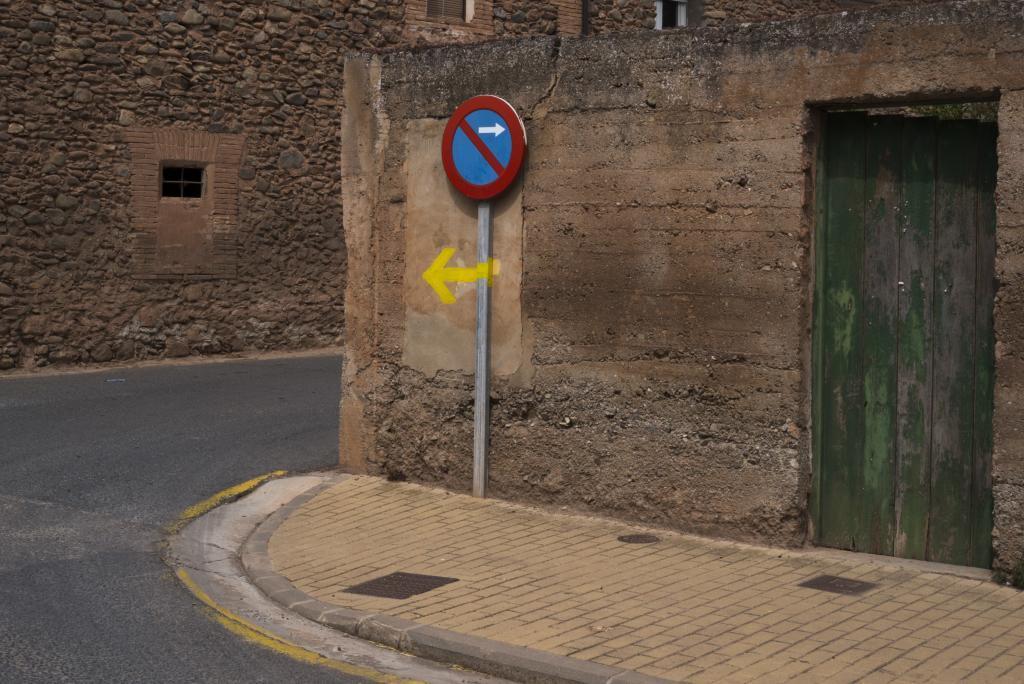 Imagen del pueblo de Badaran, en La Rioja.