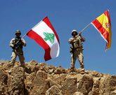 SOLIDARIDAD DEL LÍBANO. El Ejército libanés se solidarizó con las...