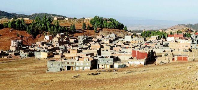 Imagen del municipio de Aghbala, de donde son originarios los hermanos...