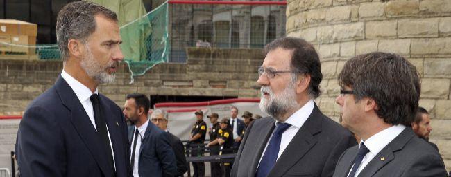"""Puigdemont ve """"muy lamentable"""" el veto de la CUP al Rey en la manifestación del sábado"""