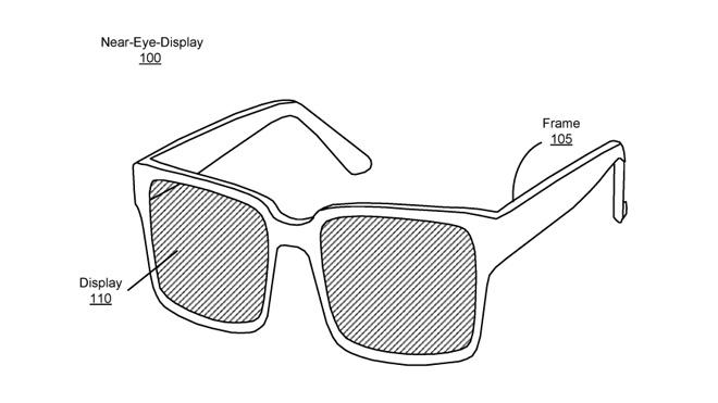 La patente registrada describe un dispositivo con una pantalla en cada cristal