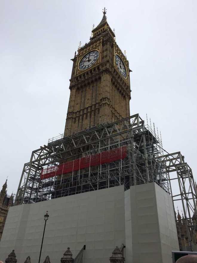 El Big Ben se despide de Londres hasta 2021