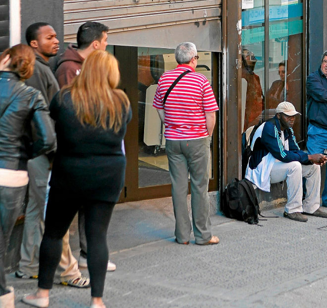 Los afiliados extranjeros a la seguridad social aumentan for Oficina de extranjeros madrid