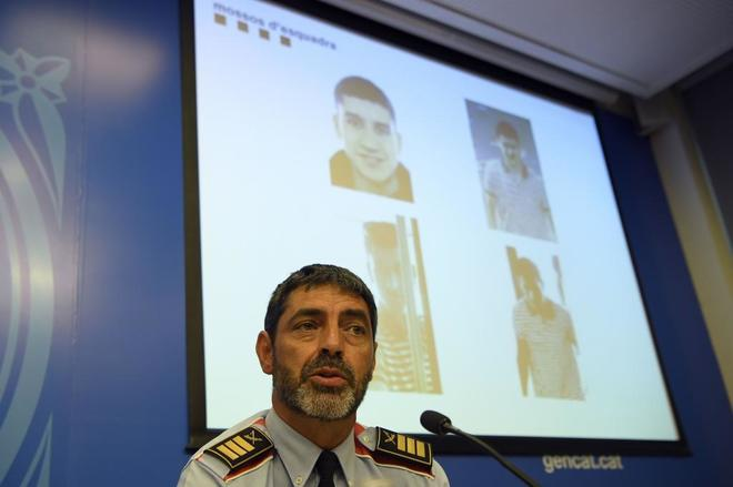 Josep Lluís Trapero, en una rueda de prensa reciente