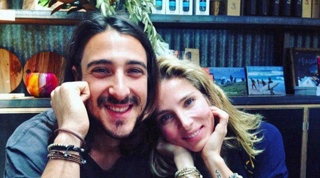 Elsa Pataky y su hermano Cristian, en su perfil de Instagram.