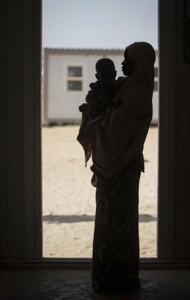Aisha, de 17 años, secuestrada por Boko Haram y preparada por la organización terrorista para ser niña-bomba.