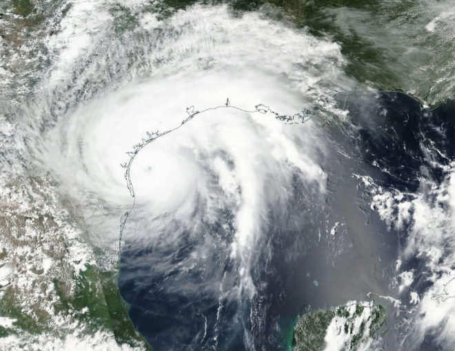 Resultado de imagen para Imagenes inundación texas satelite