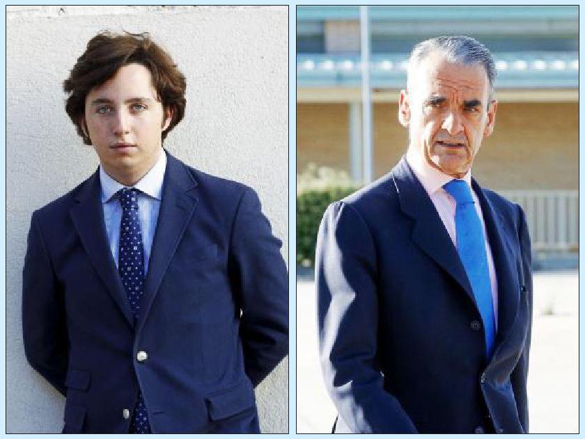 Francisco Nicolás Gómez, el 'pequeño Nicolás', y el ex banquero Mario Conde.