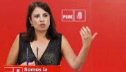 Adriana Lastra, vicesecretaria general del PSOE, en un acto del...