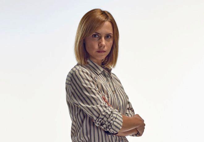 Aura Garrido.
