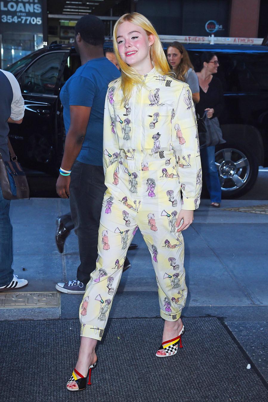 La actriz ha seguido la tendencia, en versión mono.