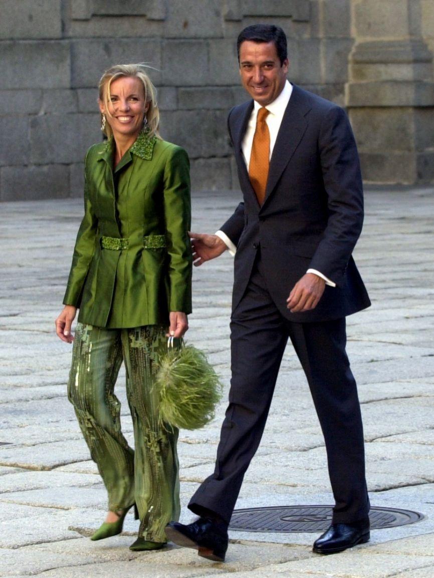 Rosa Barceló y Eduardo Zaplana