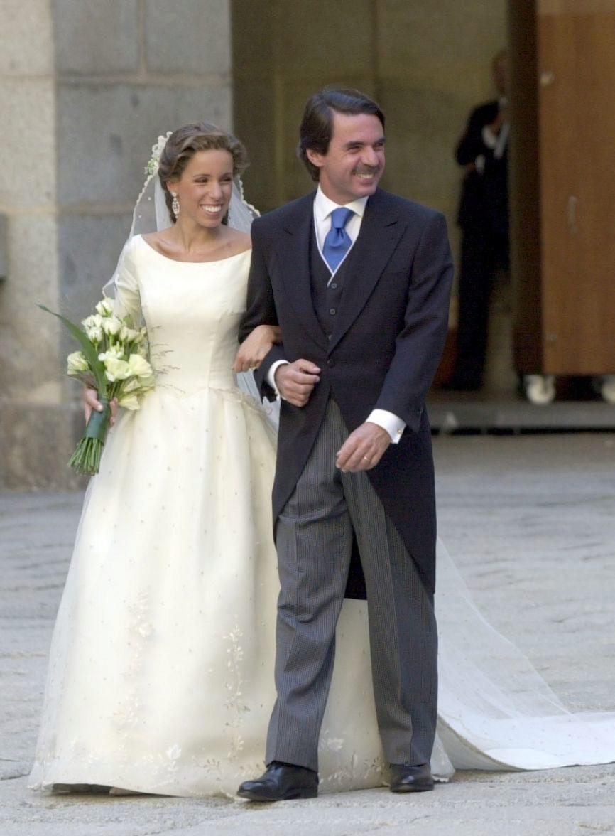 Ana Aznar y José María