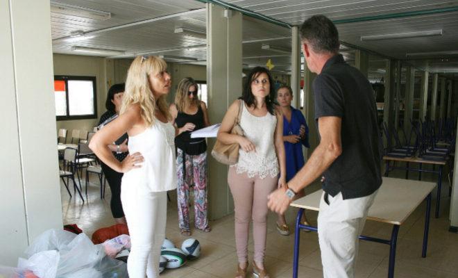 Almassora cede el parking de la piscina al colegio regina for Piscina almazora
