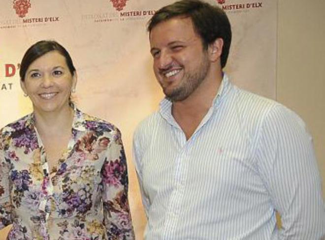 Mercedes Alonso y Pablo Ruz en una imagen de archivo