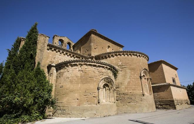 Imagen del Monasterio de Sijena, en Huesca, donde donde serán...