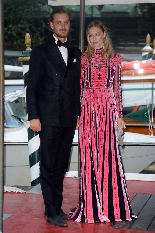 Beatrice Borromeo y Pierre Casiraghi, en los Franca Sozzani Awards en...
