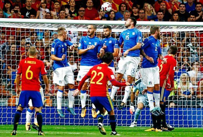 2/9/2017. Sin margen de error, España golea a Italia y se mete prácticamente en el Mundial.